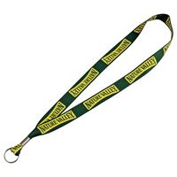 "595450411-103 - Full Color 1"" Lanyard w/ Ring - thumbnail"