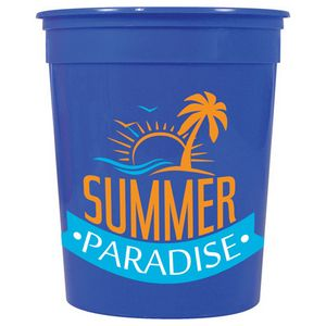 774550663-103 - Casino Solid 32oz Stadium Cup - thumbnail