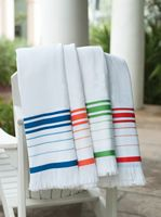143689152-173 - Turkish Signature™ Fringed Beach Towel - thumbnail