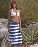 193429420-173 - Turkish Signature™ Midweight Cabana Stripe Beach Towel - thumbnail