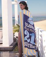 945328292-173 - Custom Striped Cabana Beach Towel (Standard Size) - thumbnail