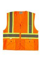 306377628-175 - Xtreme Visibility DOT Class 2 Contrast Stripe Zip Vest - thumbnail