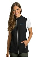 576171592-175 - Women's Greg Norman™ Windbreaker Full-Zip Hooded Vest - thumbnail
