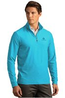 705587505-175 - Greg Norman™ Play Dry® Heather 1/4-Zip Mock Neck Sweater - thumbnail