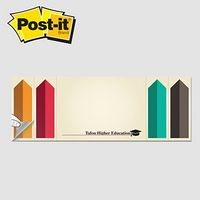 "325531702-125 - Post-it® Custom Printed Page Markers & Note Pad Combo (3""x8"") - thumbnail"