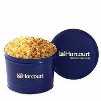 104554238-153 - 2 Way Popcorn Tins - Caramel & Cheddar Popcorn (2 Gallon) - thumbnail