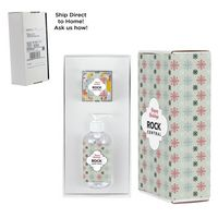 126414181-153 - 8 oz. Sanitizer & Candy Cube in Mailer box - Hershey Everyday Mix - thumbnail