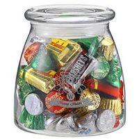 164493571-153 - Vibe Glass Jar - Hershey's® Holiday Mix (27 Oz.) - thumbnail