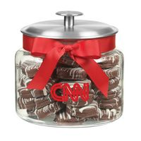 184916237-153 - Glass Cookie Jar - Chocolate Covered Oreo® Cookies (64 Oz.) - thumbnail