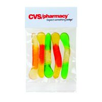 302527305-153 - Gummy Worms in Header Bag (1 Oz.) - thumbnail