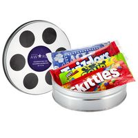 315136925-153 - Small Film Reel Tin w/ Assorted Candy - thumbnail