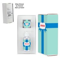 326414184-153 - 8 oz. Sanitizer & Candy Cube in Mailer box - Hershey Kisses - thumbnail