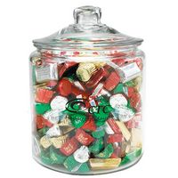 344100093-153 - Half Gallon Glass Jar - Hershey's® Holiday Mix - thumbnail