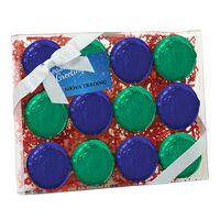 344167824-153 - Elegant Chocolate Covered Oreo Gift Box - Foil Wrappers (12 pack) - thumbnail