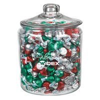 345182970-153 - Gallon Glass Jar - Hershey's® Holiday Kisses - thumbnail