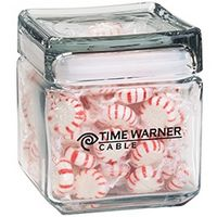 364555647-153 - Square Glass Jar - Starlight Mints (32 Oz.) - thumbnail