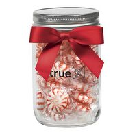 365179540-153 - 12 Oz. Glass Mason Jar w/ Starlight Mints - thumbnail
