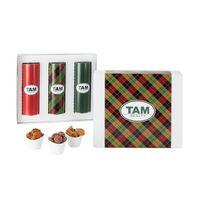 526185902-153 - 3 Way 8 inch Cookie Gift Tube Set - thumbnail
