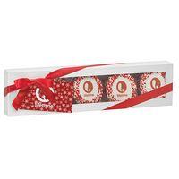 535178949-153 - Luxury Chocolate Covered Oreo® Gift Box w/ Custom Oreo® - Corporate Color Nonpareil Sprinkles (5 pk) - thumbnail