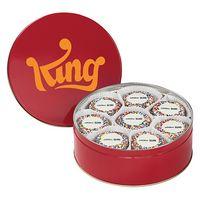 535179330-153 - 24 Custom Chocolate Covered Oreo® Cookies in Tin (Rainbow Sprinkles) - thumbnail