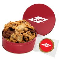 541640040-153 - Large Assorted Snack Tins - Gourmet Cookies - thumbnail