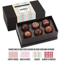 565549303-153 - Valentine's Day 6 Piece Decadent Truffle Box - Assortment 1 - thumbnail