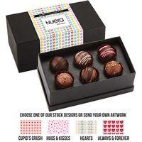 565549303-153 - Valentine's Day 6 Piece Decadent Truffle Box - Assortment 1 - thumbnail