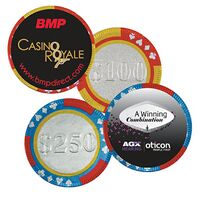 571641649-153 - Poker Chip w/Label - thumbnail