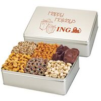 592526947-153 - 6 Way Deluxe Gift Tin - Premium Treat Selection - thumbnail