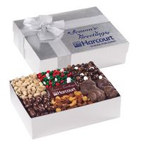 593870174-153 - 6 Way Deluxe Gift Box with Chocolate Bar- Gourmet Treat Selection - thumbnail