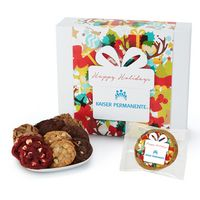 596185091-153 - Fresh Baked Cookie Gift Set - 36 Assorted Cookies - in Gift Box - thumbnail