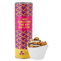 "596196986-153 - 8"" Snack Tube Collection -White & Dark Chocolate Swirl Popcorn - thumbnail"