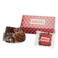706185064-153 - Fresh Baked Brownie Gift Set - 6 Assorted Brownies - in Mailer Box - thumbnail