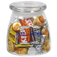 715182862-153 - Vibe Glass Jar - Hershey's Everyday Mix (27 Oz.) - thumbnail
