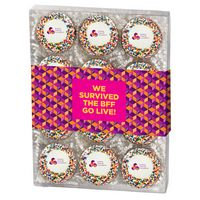 725048480-153 - Chocolate Covered Printed Oreo® Gift Box - Rainbow Nonpareil Sprinkles/Printed Cookie (12 pack) - thumbnail