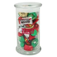 754172344-153 - Status Glass Jar - Hershey's® Holiday Mix (20.5 Oz.) - thumbnail