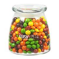 775432253-153 - Vibe Glass Jar - Skittles® (27 Oz.) - thumbnail
