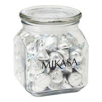 903799960-153 - Contemporary Glass Jar - Hershey's Kisses (20 Oz.) - thumbnail