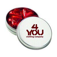 922529027-153 - Medium Round Tin - Chocolate Hearts - thumbnail