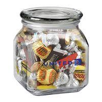 923879591-153 - Contemporary Glass Jar - Hershey's® Everyday Mix® (20 Oz.) - thumbnail
