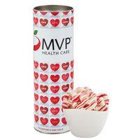 """946195046-153 - 8"""" Valentine's Day Snack Tubes - Valentine's Pretzels - thumbnail"""