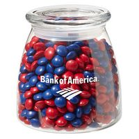 954417660-153 - Vibe Glass Jar - Chocolate Buttons (27 Oz.) - thumbnail