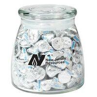 954417665-153 - Vibe Glass Jar - Hershey's® Kisses® (27 Oz.) - thumbnail