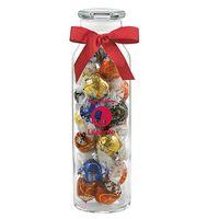 984493617-153 - Glass Hydration Jar - Lindt® Truffles (24 Oz.) - thumbnail