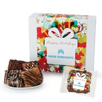 996185092-153 - Fresh Baked Brownie Gift Set - 18 Assorted Brownies - in Gift Box - thumbnail