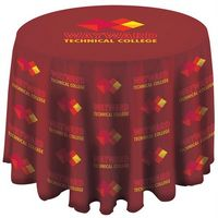 "145312355-157 - 3-ft. Round FULL BLEED Table Cover with 27"" Overhang - thumbnail"