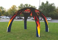 514556586-157 - 11 ft x 11 ft (8.5 ft H) Inflatable Event Tent - Full Bleed - thumbnail