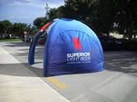 915901492-157 - 11' x 11' Inflatable Tent Wall - FULL COLOR PRINT - thumbnail
