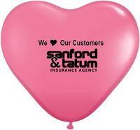 "972007945-157 - 15"" Qualatex Heart Jewel/ Fashion Color Latex Balloon - thumbnail"