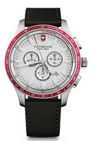 195803445-174 - Alliance Sport Chrono Watch w/Black Leather Strap - thumbnail